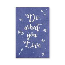 """зображення 1 - Листівка Papadesign """"Do what you love"""" 10x15"""