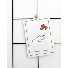 """зображення 1 - Листівка Saffi art mind """"Кросівки"""" А6"""