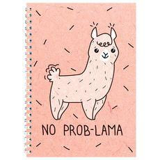 """фото 1 - Блокнот Papadesign """"No prob-lama"""" A5 21 х 15 см."""