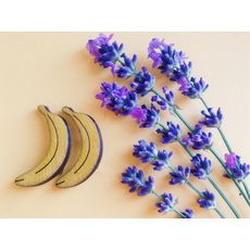 "зображення 1 - Брошка ""Банани"""