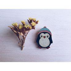 """зображення 1 - Брошка """"Пінгвін"""""""