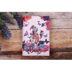 """фото 1 - Обложка на паспорт """"Девочка в цветах"""""""
