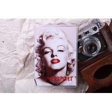 """Обложка на паспорт """"Мерлин сепия"""", фото 1"""