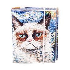 """зображення 1 - Візитниця Just cover """"Ван кіт"""" 7,5 х 9,5 см"""