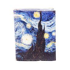 """зображення 1 - Візитниця """"Ван Гог""""  7,5 х 9,5 см"""