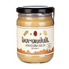 """зображення 1 - Паста арахісова Burunduk """"Класична"""" 250 г"""