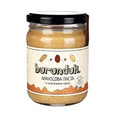 "зображення 1 - Паста арахісова Burunduk ""Зі шматочками"" 250 г"