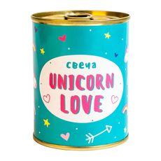 """Консерва-свеча PAPAdesign """"Unicorn love"""", фото 1"""