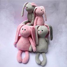 """зображення 1 - Іграшка LAvender  """"Заєць"""" 42 см"""