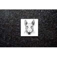 """зображення 1 - Підставка Carambol-shop """"Бультер'єр"""" 10х10"""