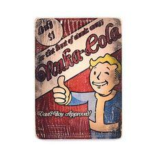 """зображення 1 - Постер """"Fallout #5 Nuka-Cola Vault-Boy"""""""