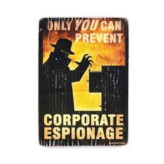 фото 1 - pvw0008 Постер Fallout #8 Corporate espionage
