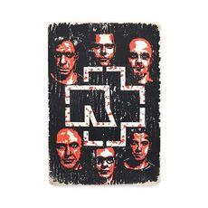 "Постер ""Rammstein #6"", фото 1"