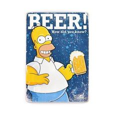 зображення 1 - Постер The Simpsons #1 BEER! Wood Poster