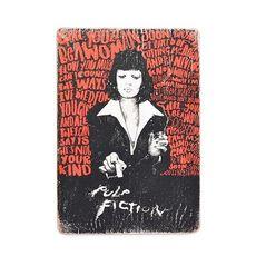 зображення 1 - Постер Pulp Fiction #2 Mia Art Wood Posters 200 мм 285 мм 8 мм