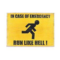фото 1 - pvh0016 Постер Run Like Hell