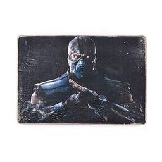 """зображення 1 - Постер """"Mortal Kombat #3 Sub-Zero"""""""