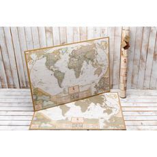 зображення 1 - Скретч карта світу в античному стилі Набір Antique 88х60