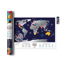 """зображення 1 - Скретч-карта 1DEA.me """"Holiday world"""" eng (80*60 см)"""