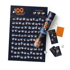 """Скретч-постер 1dea.me """"100 дел Kamasutra edition"""" eng, фото 1"""