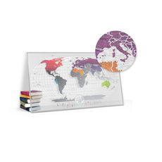 "Скретч-карта 1DEA.me ""Travel map Air world"" eng, фото 1"