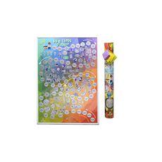 """фото 1 - скретч-постер My gift """"My First Poster"""" 47х68"""
