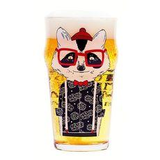 "фото 1 - Пивной бокал BeerMe ""Енот"" 500 ml"