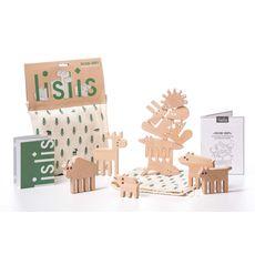 """фото 1 - Деревянная игрушка lislis """"Лесные звери"""" в мешочке"""