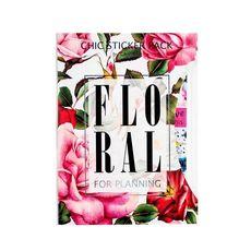 """Набор стикеров Chiсardi """"Floral"""" 230 шт, фото 1"""