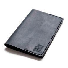"""Обложка на паспорт Just feel """"Кожаная"""" черная, фото 1"""