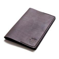 """Обложка на паспорт Just feel """"Кожаная"""" коричневая, фото 1"""