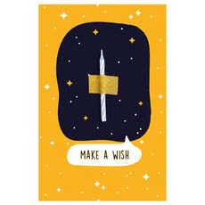 "фото 1 - Открытка Papadesign  ""Make a wish"" 10x15"