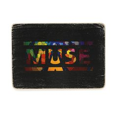 "Постер Wood Posters ""Muse Logo"" 285х200х8 мм, фото 1"