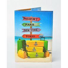 """Обложка на паспорт Passporty """"#26"""" эко-кожа, фото 1"""
