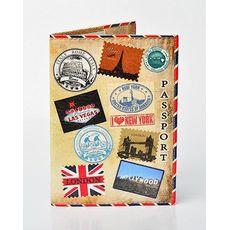 """Обложка на паспорт Passporty """"#96"""" эко-кожа, фото 1"""