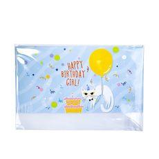 "Открытка PAPAdesign ""Happy Birthday girl!"" для денег, фото 1"