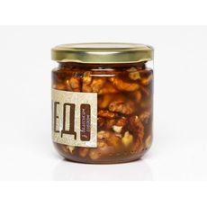 фото 1 - Мед з грецькими горіхами