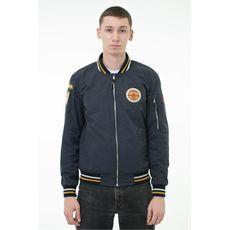 """фото 1 - Куртка Hipster """"Бомбер"""" синяя"""