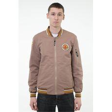 "фото 1 - Куртка Hipster ""Бомбер"" бежевая"