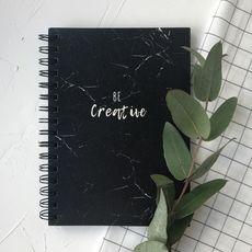 фото 1 - З чорним папером Be creative  200с, пруж