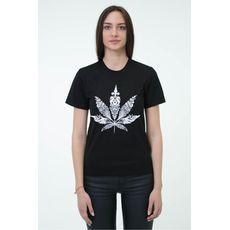 """фото 1 - Футболка Hipster """"Cannabis"""" унисекс"""