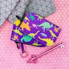 """зображення 1 - Ключниця Papadesign """"Dinosaurs"""" кожа 13*7 см"""