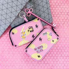 """зображення 1 - Ключниця Papadesign """"GRL PWR"""" кожа 13*7 см"""