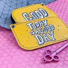 """зображення 1 - Ключниця Papadesign """"Today is a good day"""" 13*7 см"""
