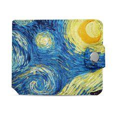 """фото 1 - Кошелек Just cover """"Ван Гог"""" 11 х 12,5 см"""