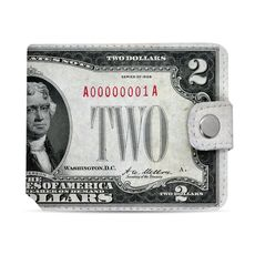 "фото 1 - Кошелек Just cover ""Доллар"" 11 х 12,5 см"