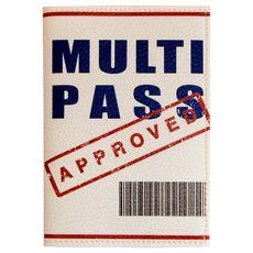 """фото 1 - Обложка для паспорта papadesign """"Multipass"""" 13,5*10"""