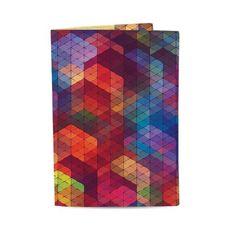 """фото 1 - Обложка на паспорт Just cover """"Спектр"""" 13,5 х 9,5 см"""