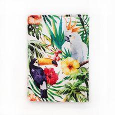 """фото 1 - Обложка на паспорт Just cover """"Тропические птицы"""" 13,5 х 9,5 см"""