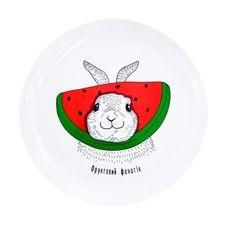 "фото 1 - Тарелка Papadesign ""Кролик"" 25 см"